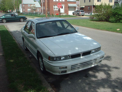 1991 Mitsubishi Galant VR-4, #275/2000. Turbocharged, All wheel drive sport